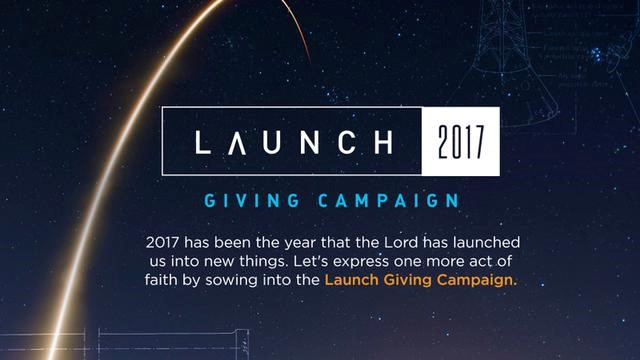 Launch 2017 Giving Campaign -